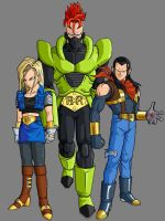 Super Androids by theothersmen