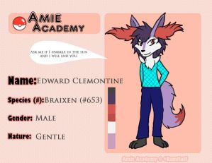 Amie Academy Application: Edward Clemontine