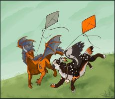 CE: Kites by Dragodog3496