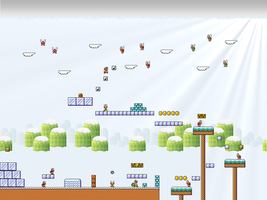 Super Mario Bros 3 - Iced Land by Metadraxis