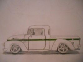 Ford Pickup [Car drawing] by Danchix