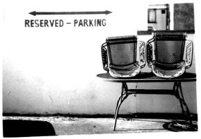 Reserved Parking by Wam