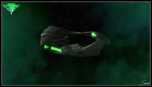 Romulan Warbird by celticarchie