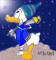 Donald Duck by Saura