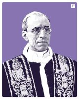 Pius XII by monsteroftheid