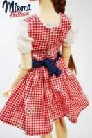 Backside of our cute Dirndl dress for SD13 / SDGr by Miema-Dollhouse