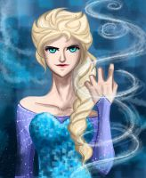 Queen Elsa by Tao-mell
