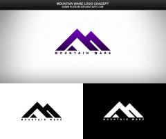 Mountain Ware Logo Concept by Plexum