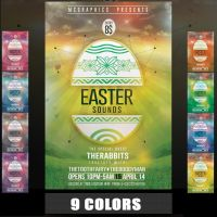 Easter Sounds Flyer Template by MCerickson