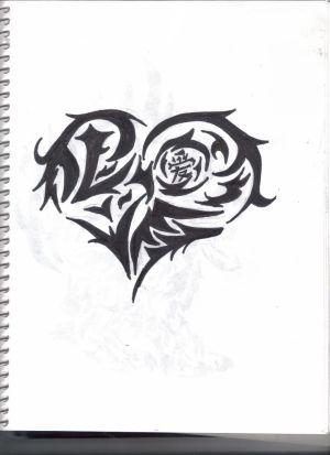 Heart Tattoo Designs 7