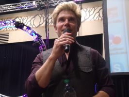 More Vic Mignogna During Q and A- Colossalcon 2014 by albertxlailaxx
