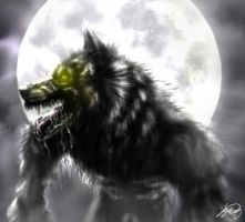 Werewolf Moon by VorpalBeast
