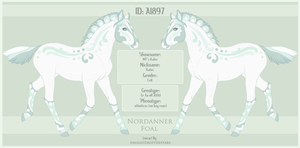 A1897 Nordanner Foal Design by WFS-Nordanners