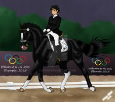 Just Before The Rain - Olympic Entry by Ikiuni