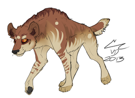 CMSN - Lacrymosa-Caracal by Chaotic--Edge