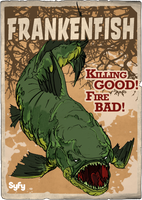 Syfy MM Frankenfish by Randoman92