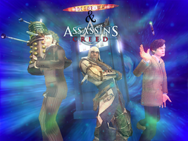 Assassin's Creed and Doctor Who by Dragonrage19
