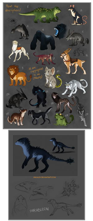 Adoptables - Name your price CLOSED