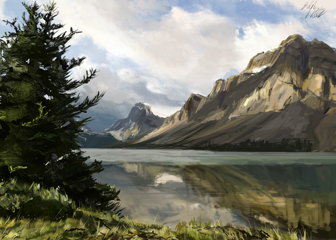 Landscape Study by PeterPrime