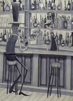 A Gentlemin and His Bar Keep by Sharack