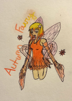 Autumn Fairy by EternalArtGirl740