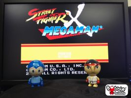 Street Fighter X Mega Man!  Daily Photo by BobbleBudds
