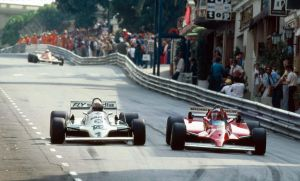 Alan Jones | Gilles Villeneuce (Monaco 1981) by F1-history
