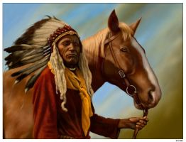 Blackfoot War-Bonnet by wendelin