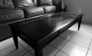 Led Table by AnthonyRalano