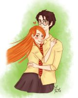 Harry+Ginny by Faith92