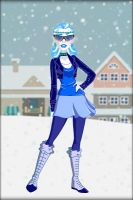 DC Super Hero Girls ~ Frost  by MiniatureBlueOwl