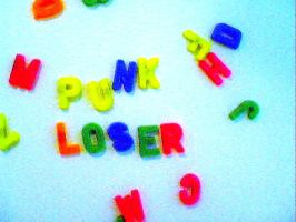Punk Loser Magnet by earthly-delight