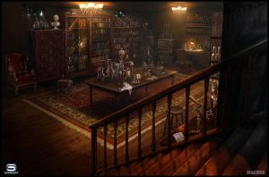 Steampunk Laboratory by VladMRK