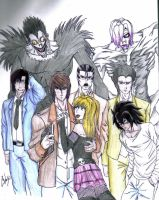 Death Note by celsohenrique