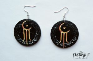 Moonspell Earrings by faktoria-f