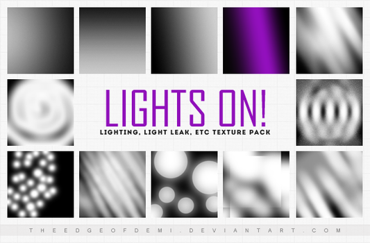 Icon Textures Pack   Lights On! by TheEdgeOfDemi