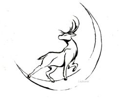 Tattoo Design - Stag by SchemaTree