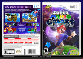 Super Mario Galaxy custom Box by 1ayron1