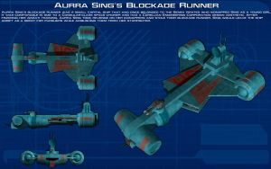 Aurra Sings Blockade Runner ortho [New] by unusualsuspex