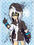 [Gift]The White Inkling by MOK-AXE