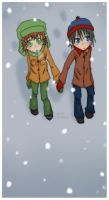 South Park: Its snowing by Kamaniki