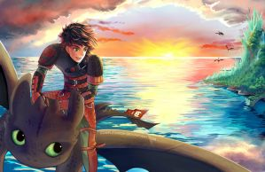 How To Train Your Dragon - Free Spirits by ComplexWish