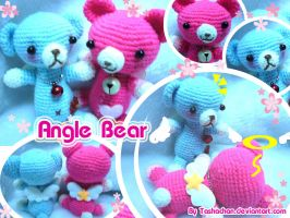 Crochet doll - Angel Bears by TashaChan