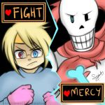 Yogscast: Fight with Papyrus! by kuraikitsune13