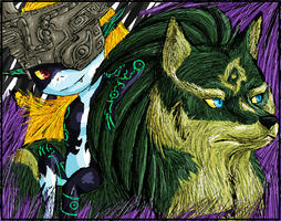 - TP: Wolf Link and Midna - by TwilightPrincessFans