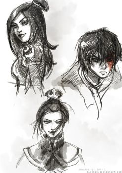 Avatar doodles 01.13.11 by alicexz