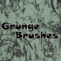 Grunge Spatter Photoshop Brushes  Free Download by designtreasure