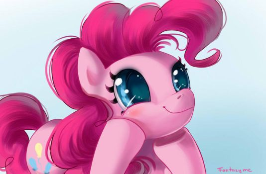 Pinkie is listening to you very carefully by fantazyme