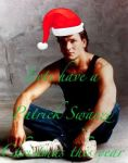 Patrick Swayze Christmas by cherryice1988