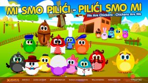 Mi smo Pilici - We Are Chickens 2015 New Video by djnick2k